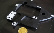 Aluminum Black Anodized Integration Plate