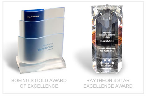 Cardic Machine Contractor Awards from Boeing and Raytheon
